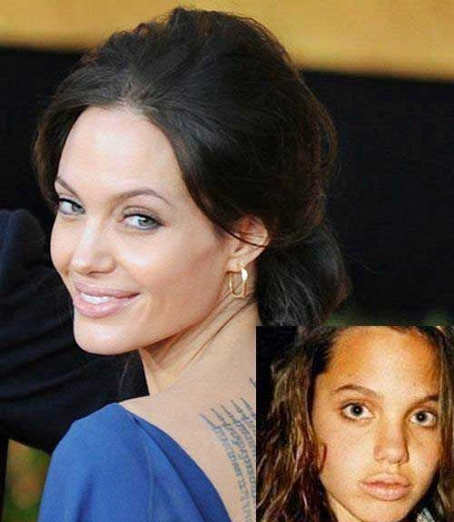 Childhood Pictures of Angelina Jolie