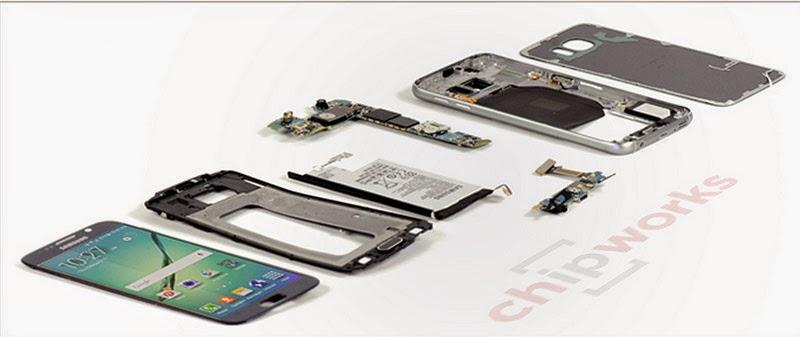 بالصور: تعرف على مكونات Galaxy S6 و Galaxy S6 Edge من الداخل