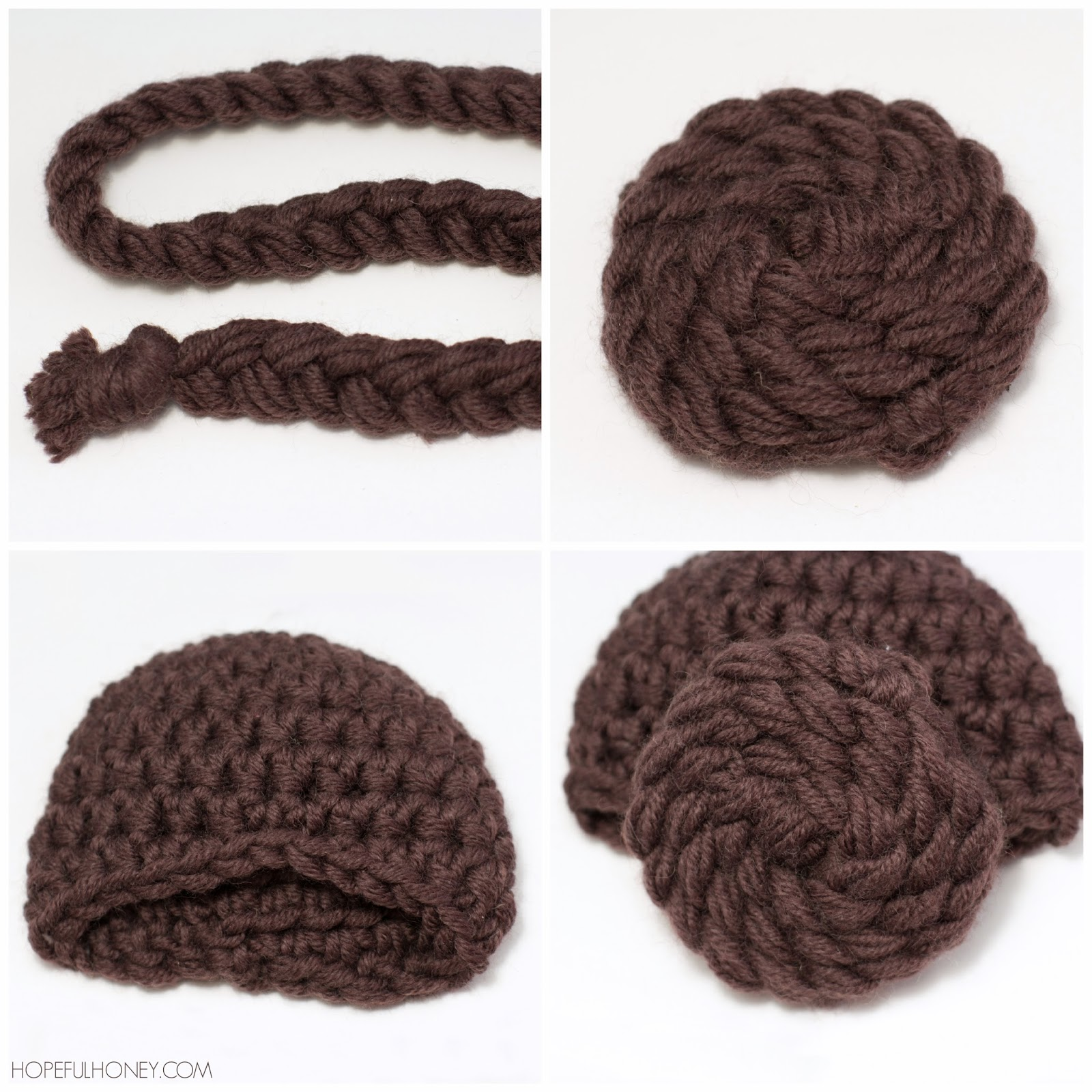 Hopeful Honey Craft, Crochet, Create: Princess Leia ...