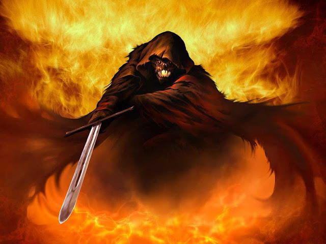 Mago negro do inferno, abadon, apolion, abadom, apoliom