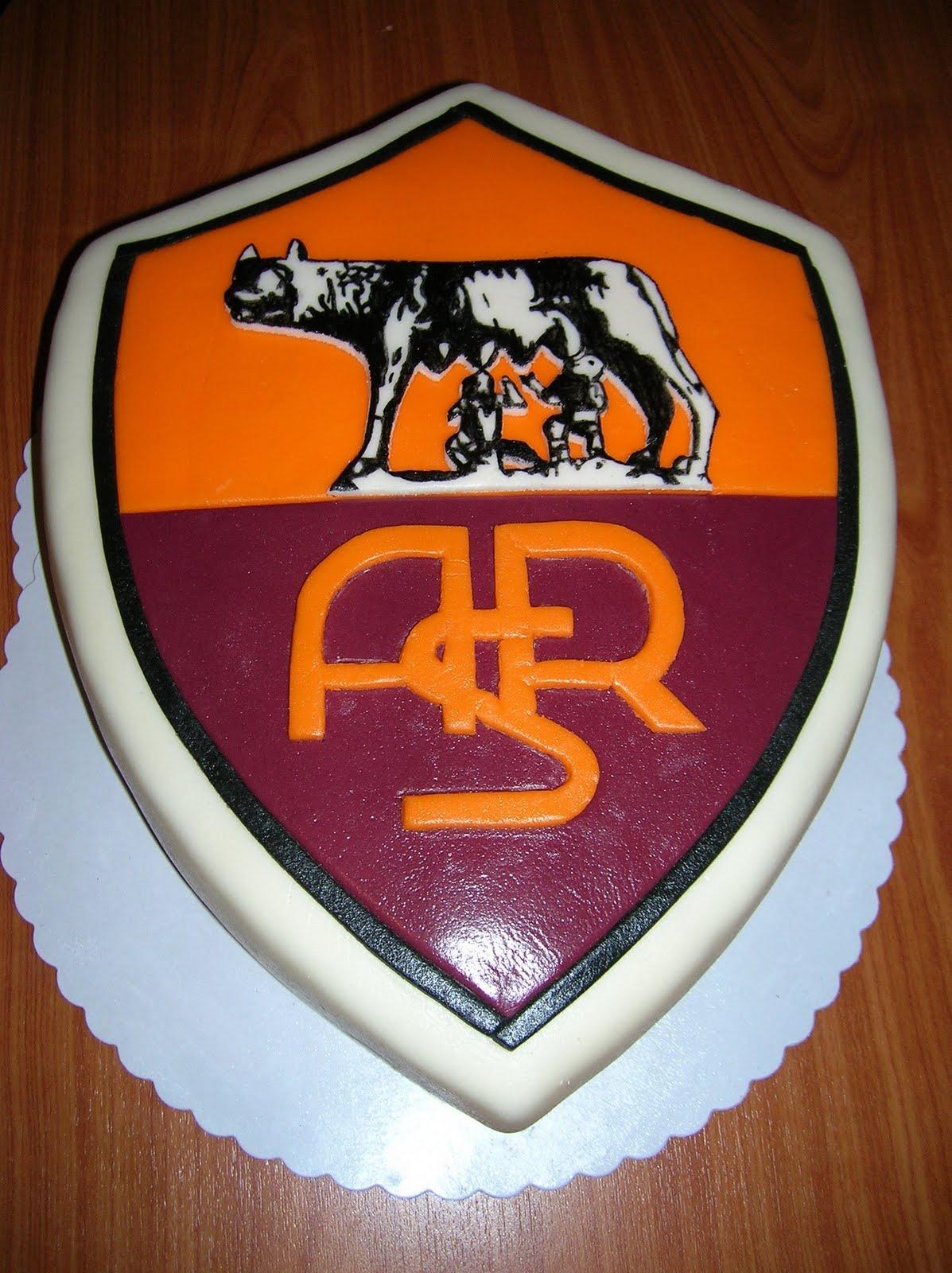 Egy szelet tortat?: AS ROMA torta