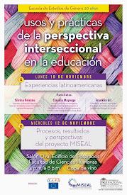 """Jornadas: """"Usos y prácticas desde la perspectiva interseccional en la educación"""""""