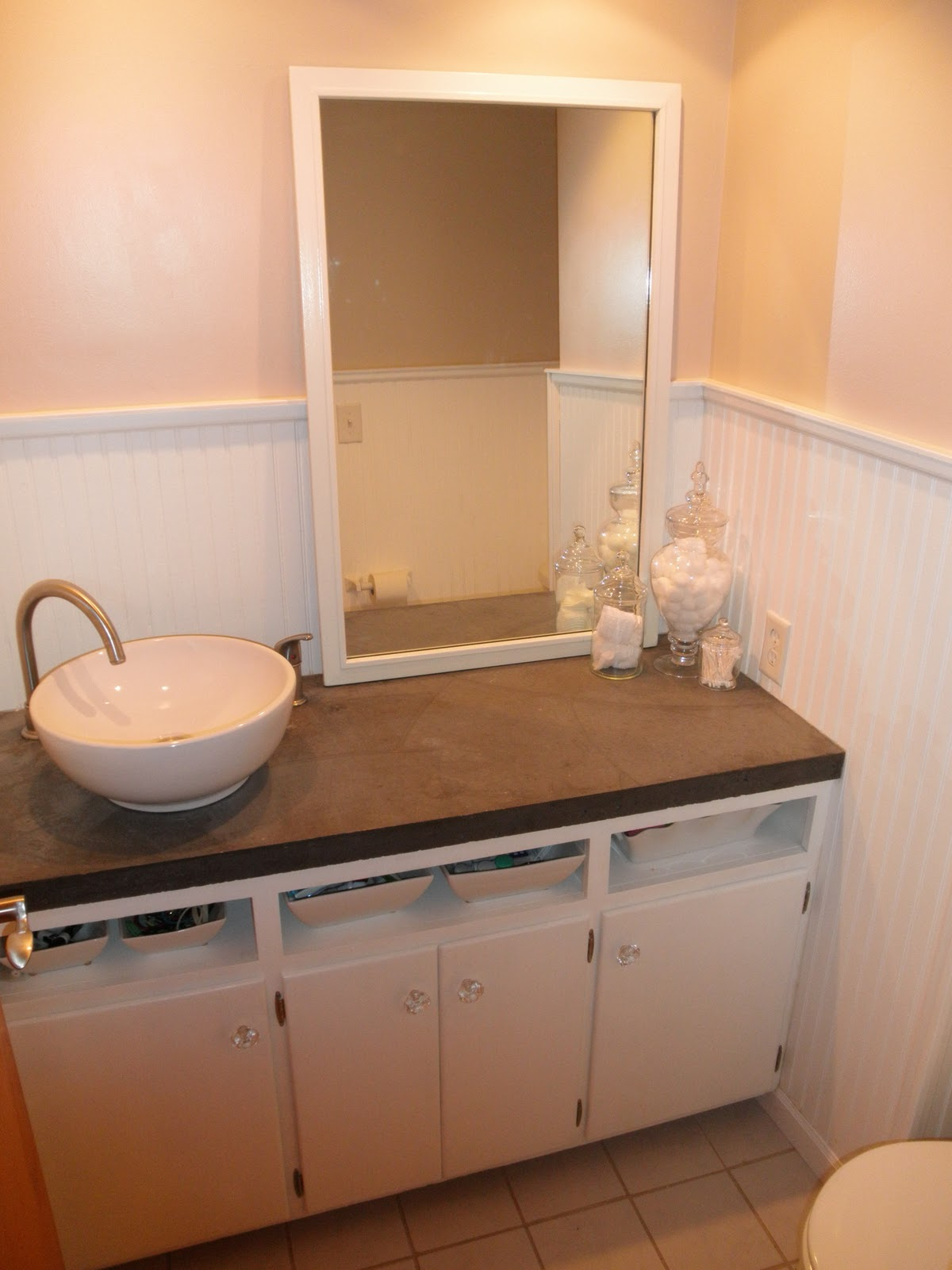 Brittany Frost: Half Bath: Before and After (and after that)