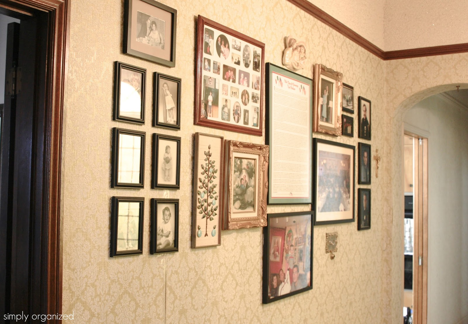 Simply done the bachelor simply organized the history on this wall blows my mind each frame was hung with meaning jeuxipadfo Gallery