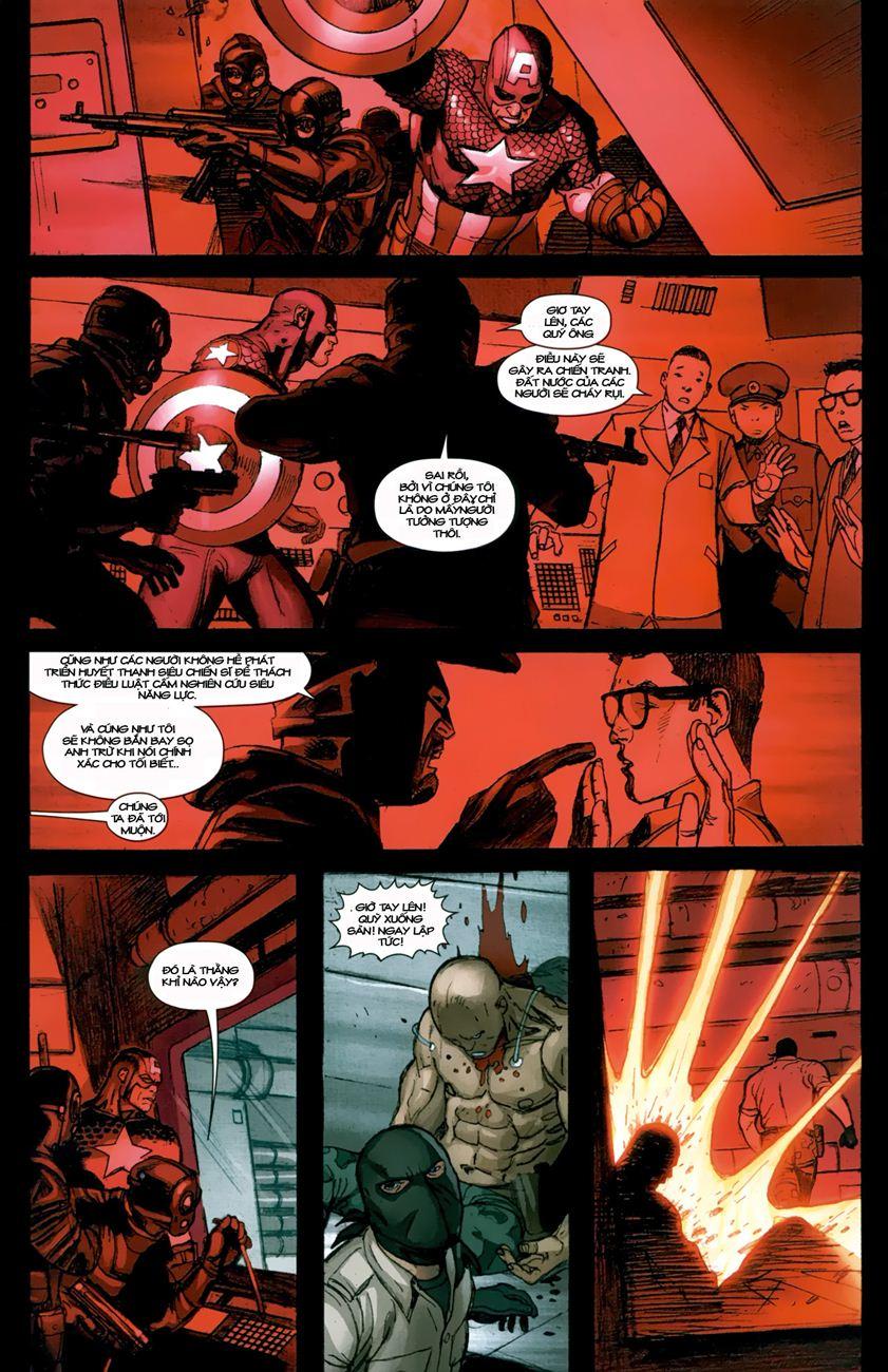 Ultimate Captain America chap 1 - Trang 17