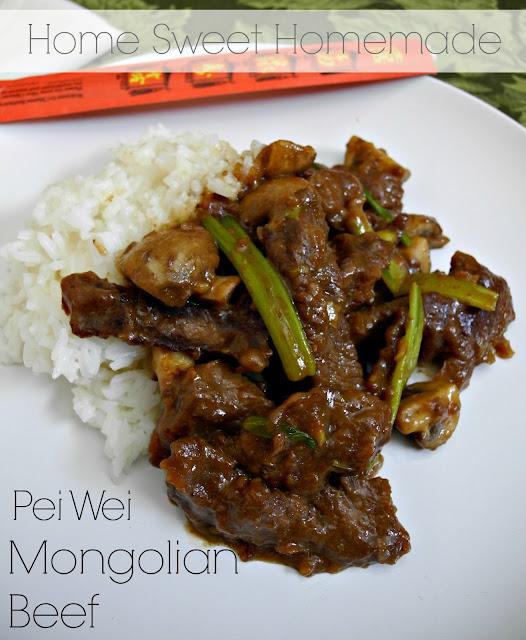 Pei Wei Mongolian Beef