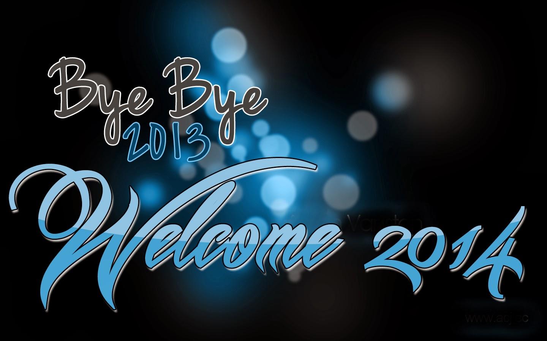 Happy New Year HD Wallpaper 2014