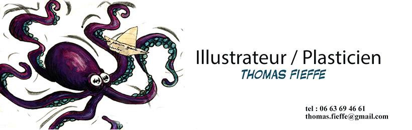 Thomas FIEFFÉ illustrateur Lille Nord