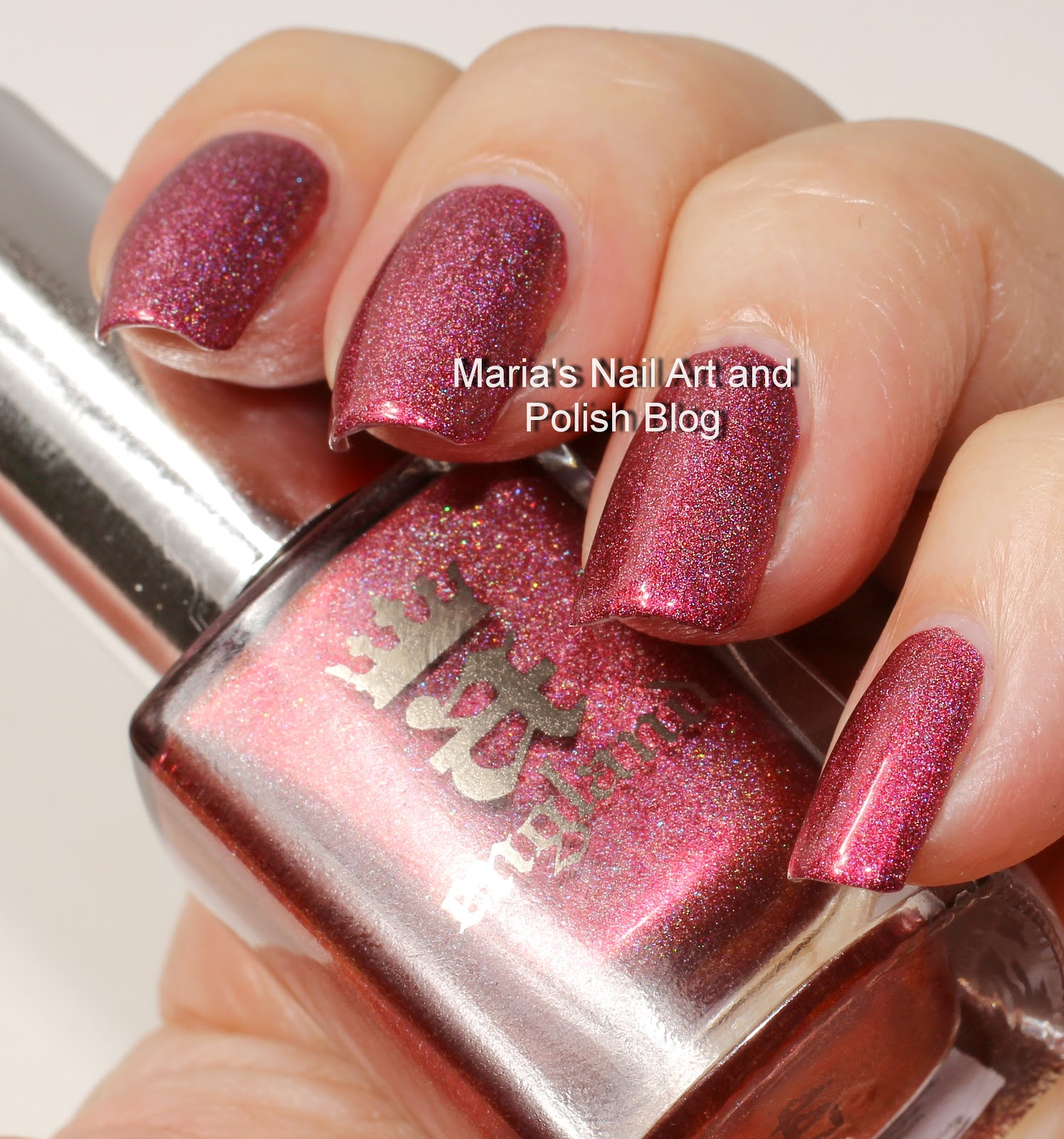 Marias Nail Art And Polish Blog Flushed With Stripes And: Marias Nail Art And Polish Blog: A England Briar Rose Aka