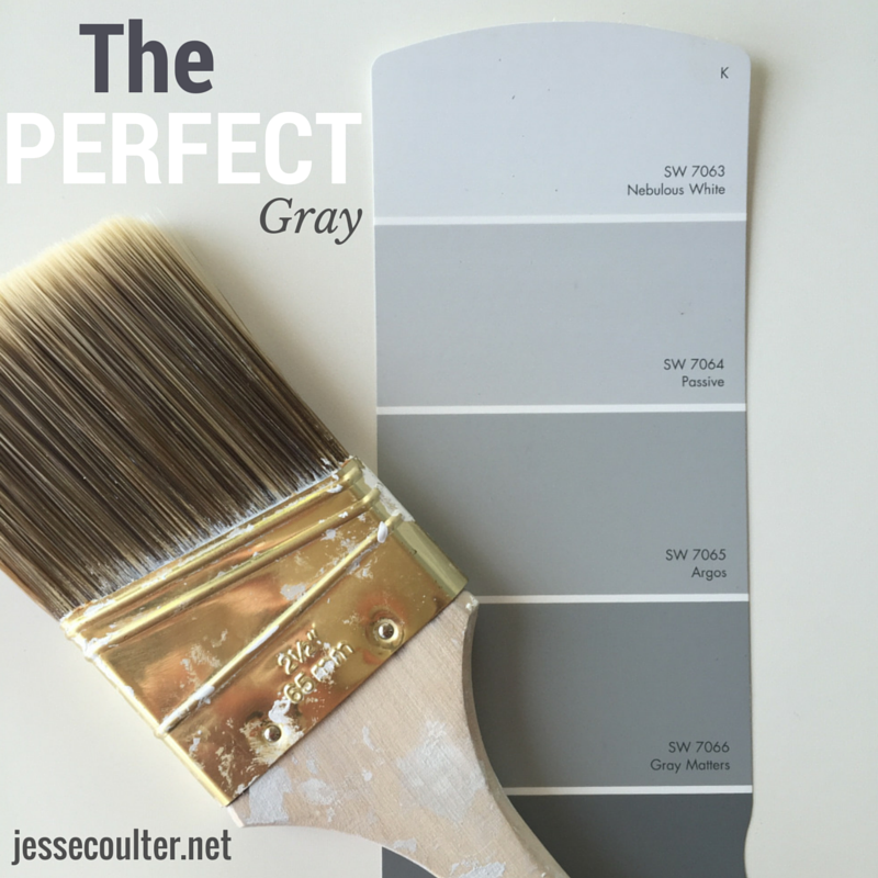 Passive gray sherwin williams images for Perfect paint