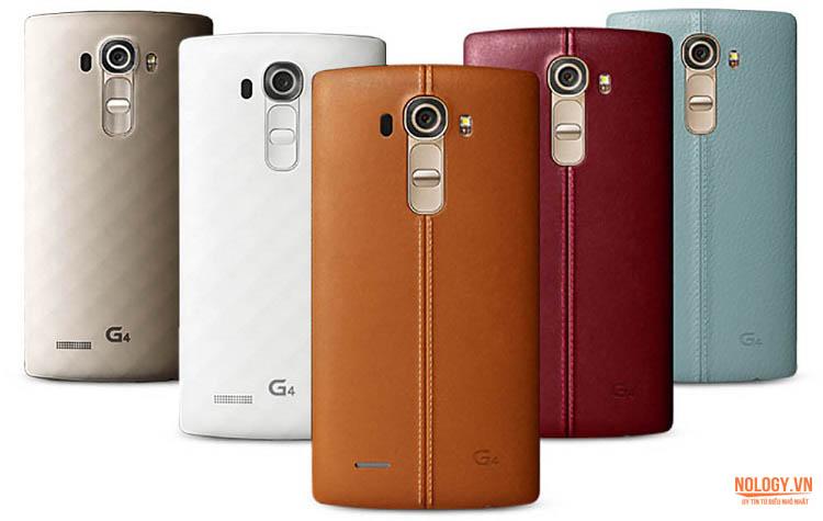 LG G4 Docomo với 5 màu cá tính