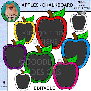https://www.teacherspayteachers.com/Product/Apples-Chalkboard-Clip-Art-2218017