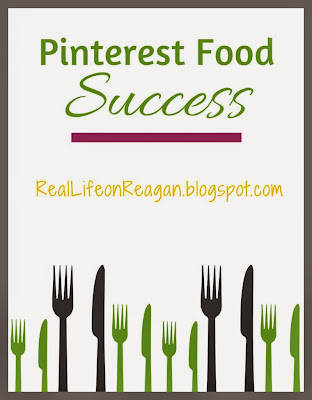 Pinterest Food Success | RealLifeonReagan.blogspot.com