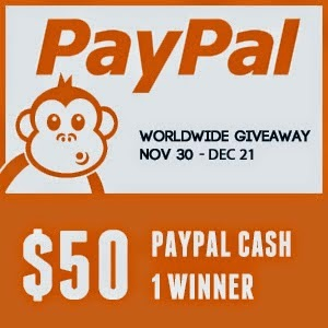 Cash Giveaway, $50, promo