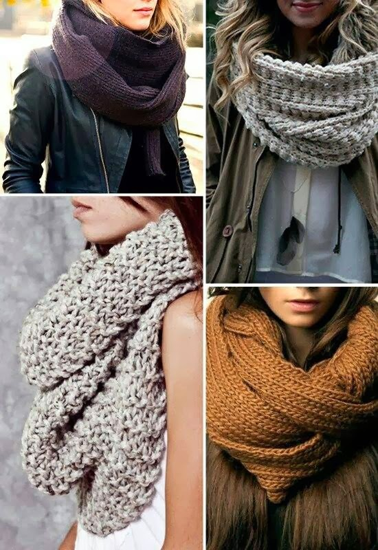 Adorable Scarves for Different Stylish Clothes
