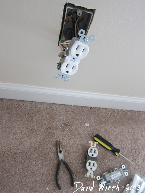install new electrical outlet, easy, cheap, finished look