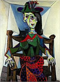 """Dora Marr with Cat"" by Pablo Picasso (110.1 Million)"