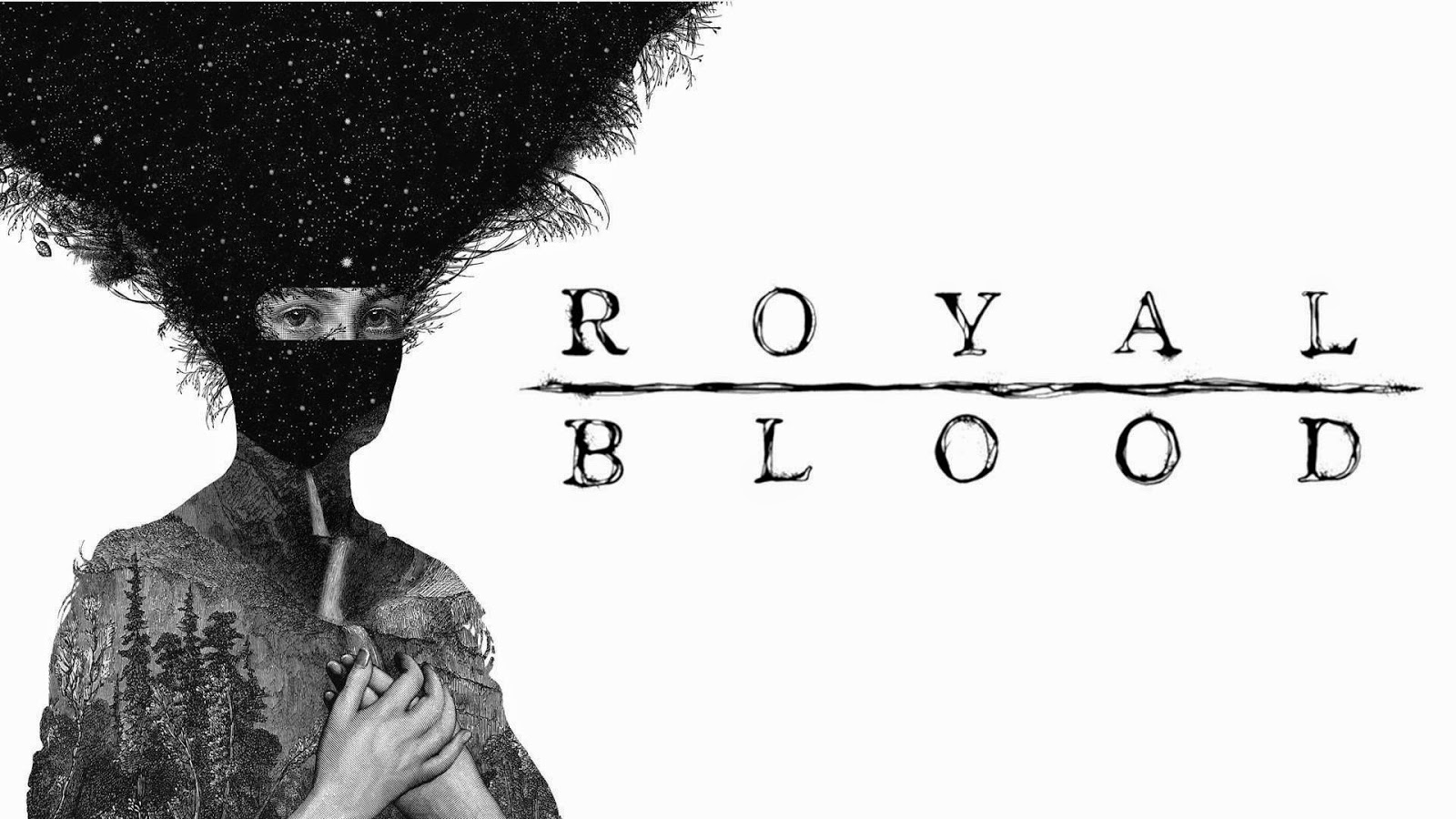 Royal Blood, Blood Hands, logo, concierto, Madrid, Barcelona