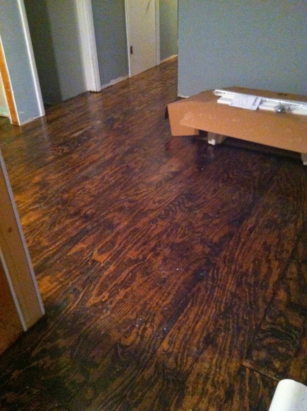 Bohall blessings plywood floor diy for Diy flooring