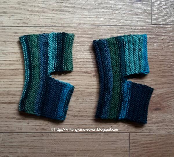 Knitting And So On Sideways Yoga Socks