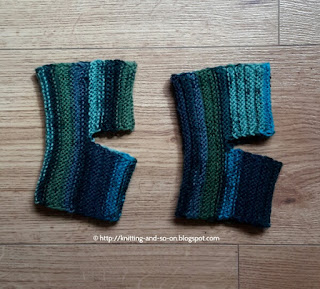 Free Knitting Pattern - Sideways Yoga Socks