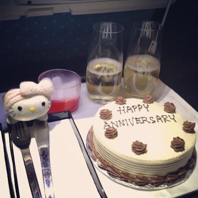 Singapore Airlines' Anniversary Cake