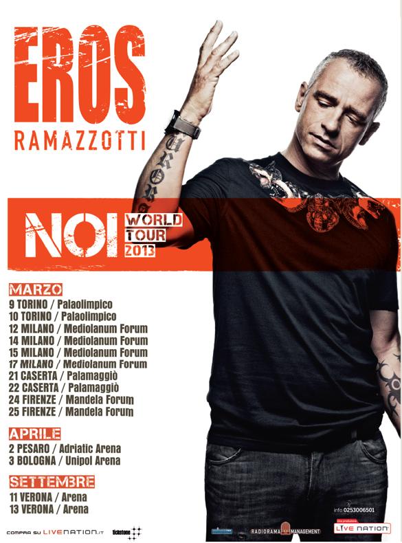 eros ramazzotti noi world tour 2013