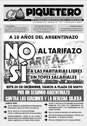 EL PIQUETERO - Nº 1 - 20 de Diciembre de 2011