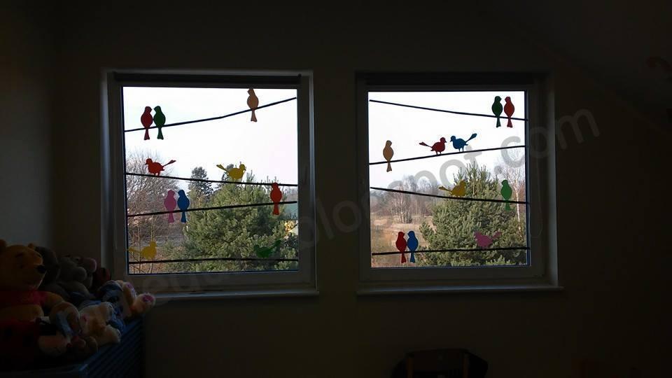 Proste Dekoracje Na Okna Wiosnalato Małe Pomysły Duże Inspiracje