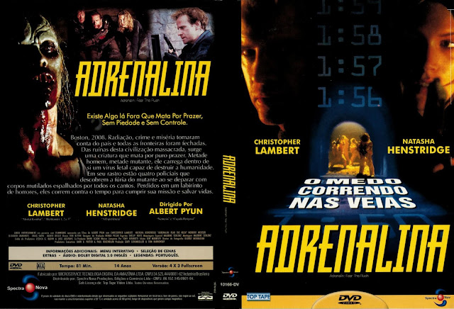 Capa DVD Adrenalina