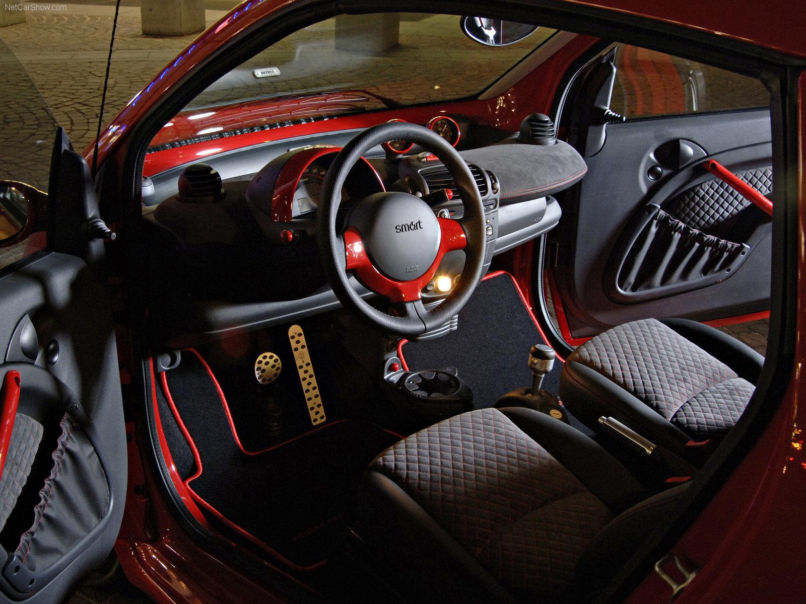 Hình ảnh xe ô tô Smart fortwo edition red 2006 & nội ngoại thất