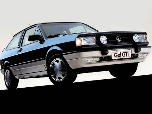 VW Gol GTI 1989 - R$ 162.400 reais