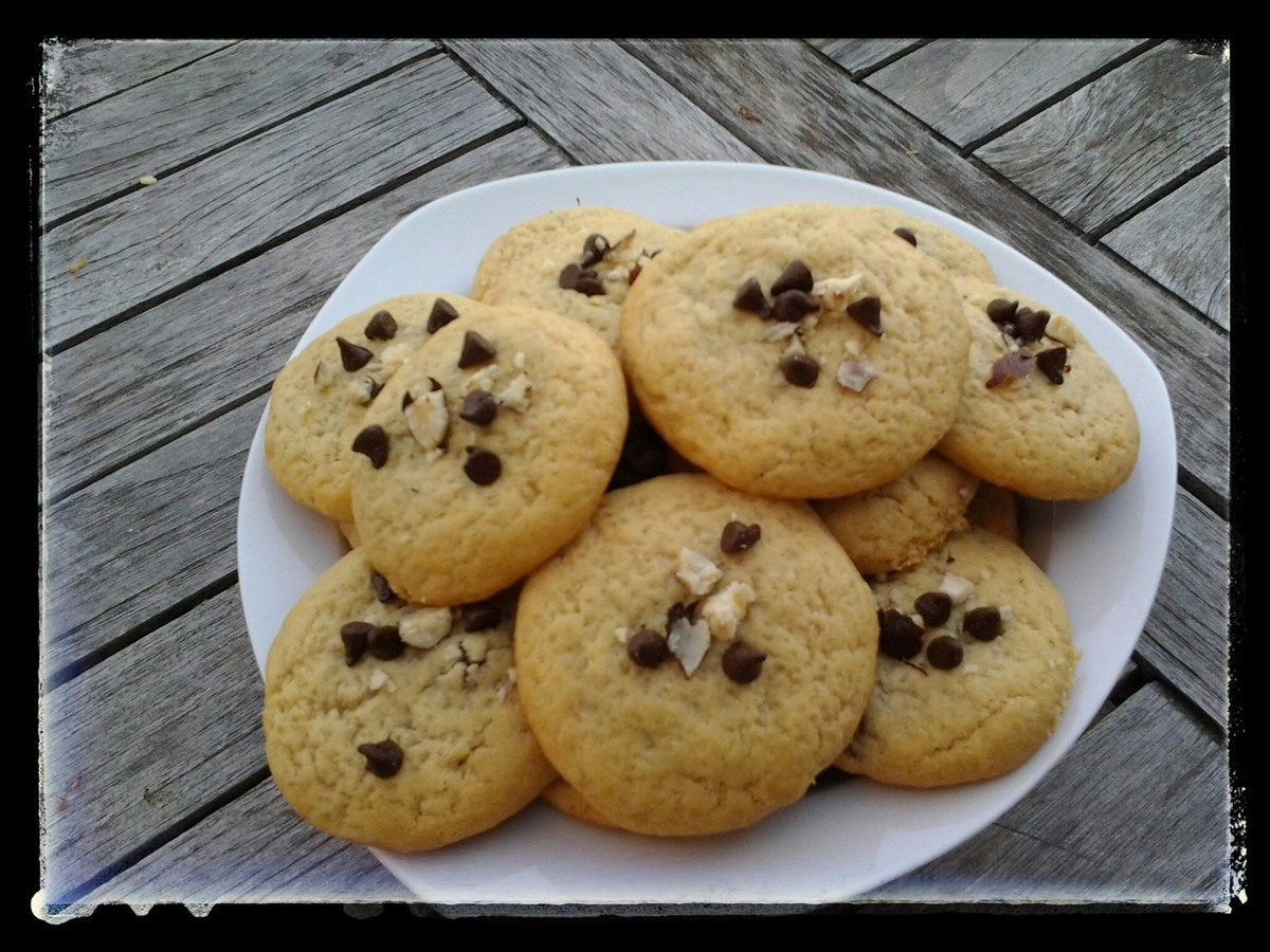 cookies coeur nutella