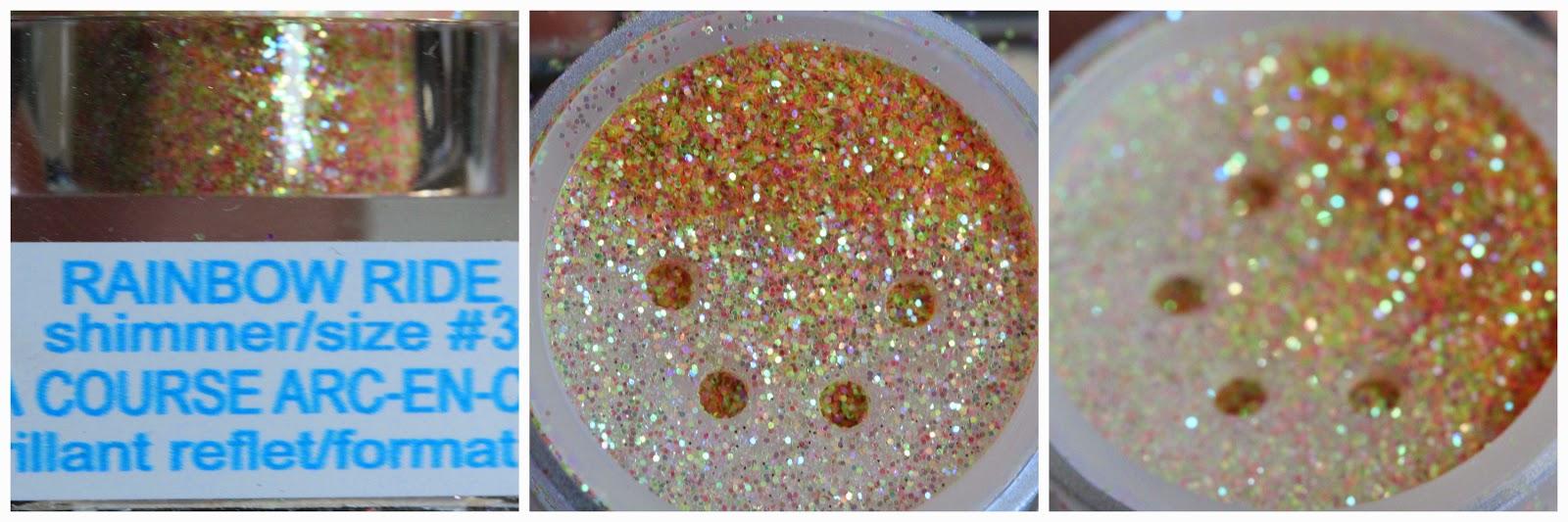 Rainbow Ride glitter