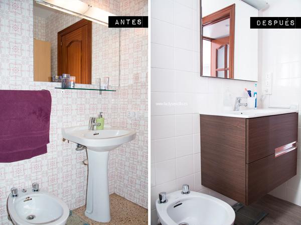 Decorar Baño Sin Obra: necesarios para cambiar un baño sin hacer obras, como este, son
