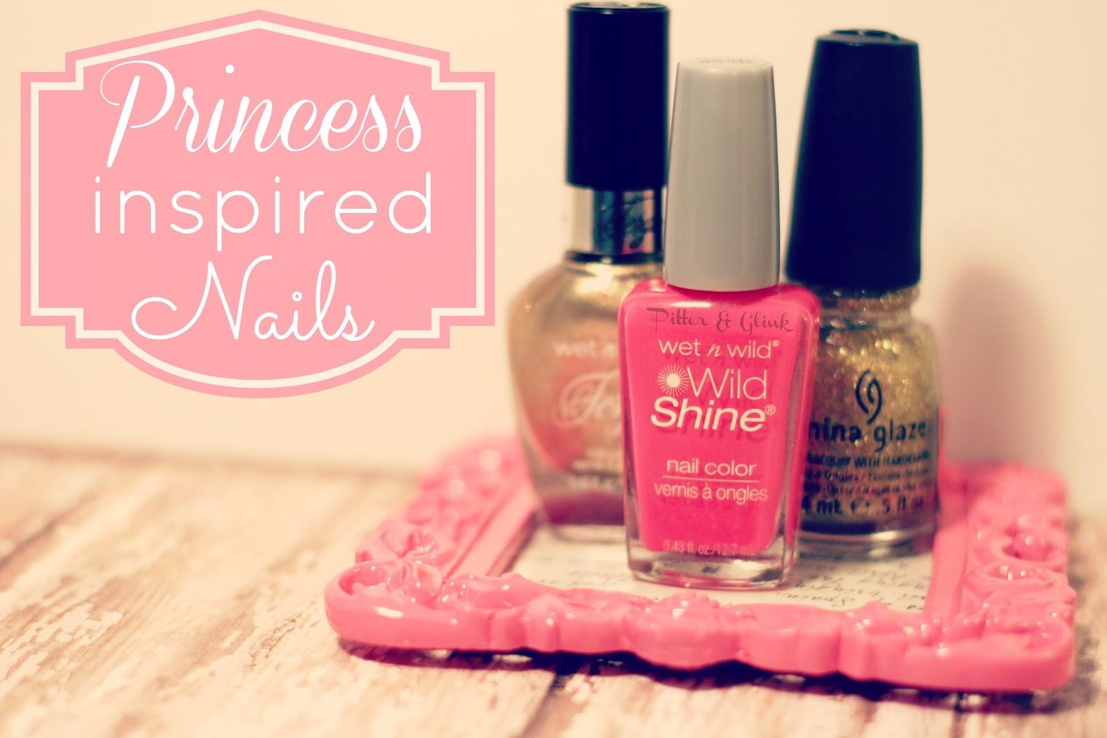 PitterAndGlink: {Princess Inspired Nails}