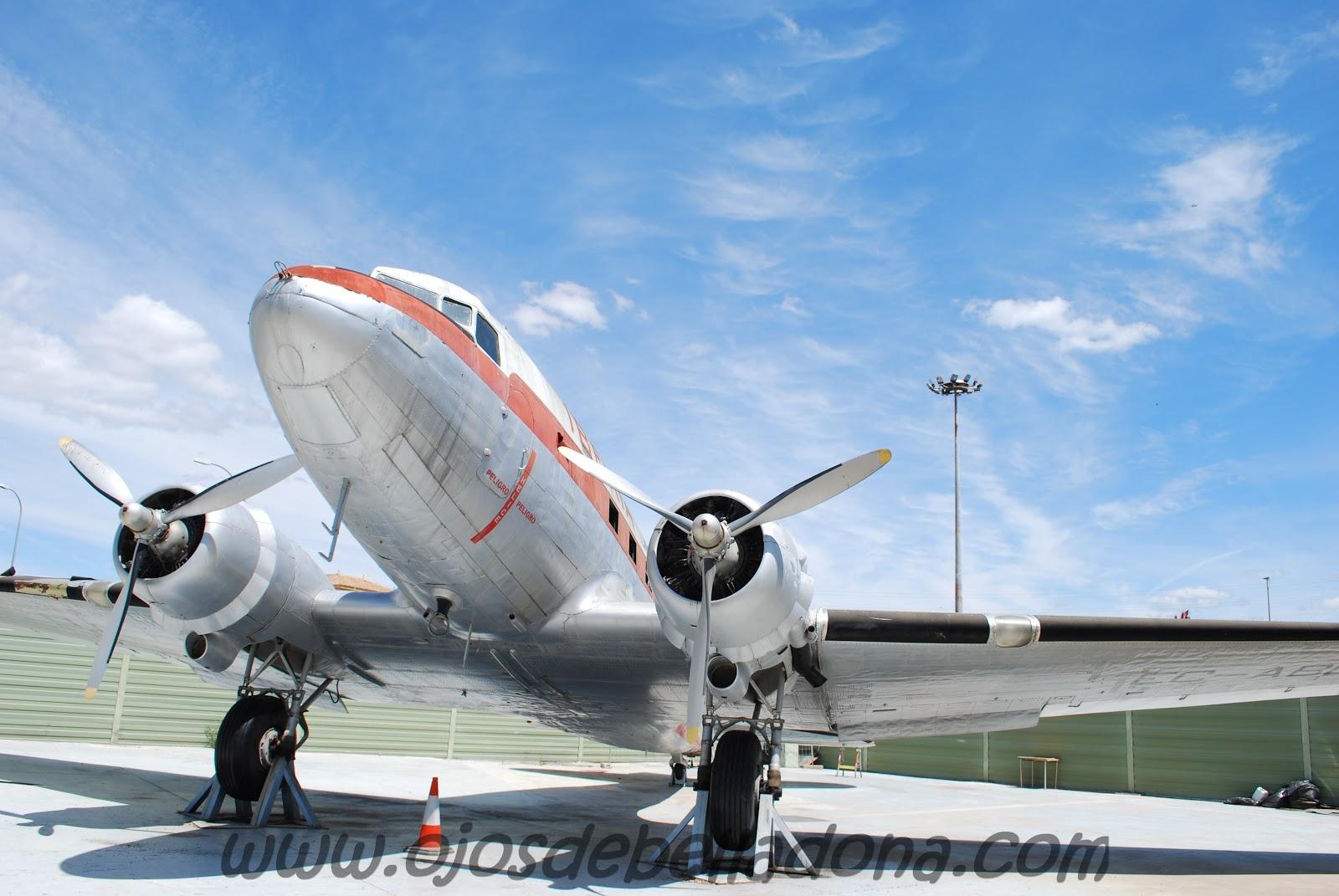 Douglas DC3 Iberia Museo de la Aviación Málaga
