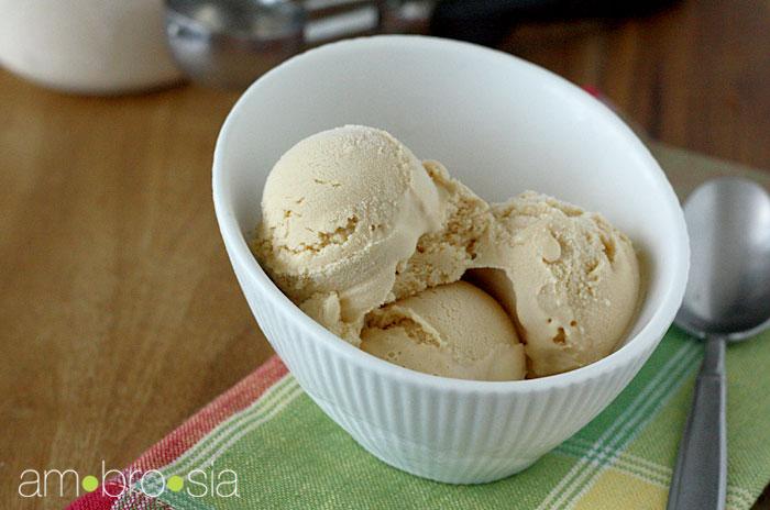 ambrosia: Dulce de Leche Ice Cream