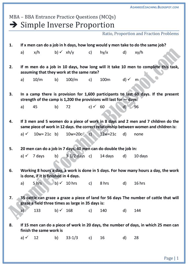 simple-inverse-proportion-aptitude-test-preparation-for-mba-bba
