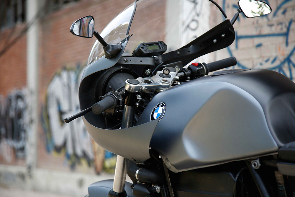 nitro cycles bmw k100 cafe racer return of the cafe racers. Black Bedroom Furniture Sets. Home Design Ideas