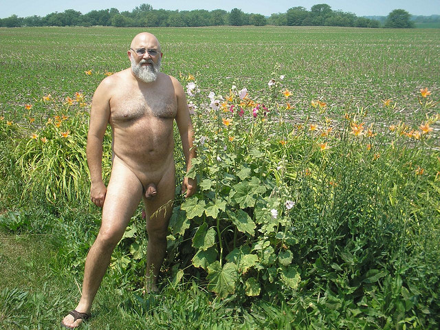 Fat Hairy Gay Grandpa