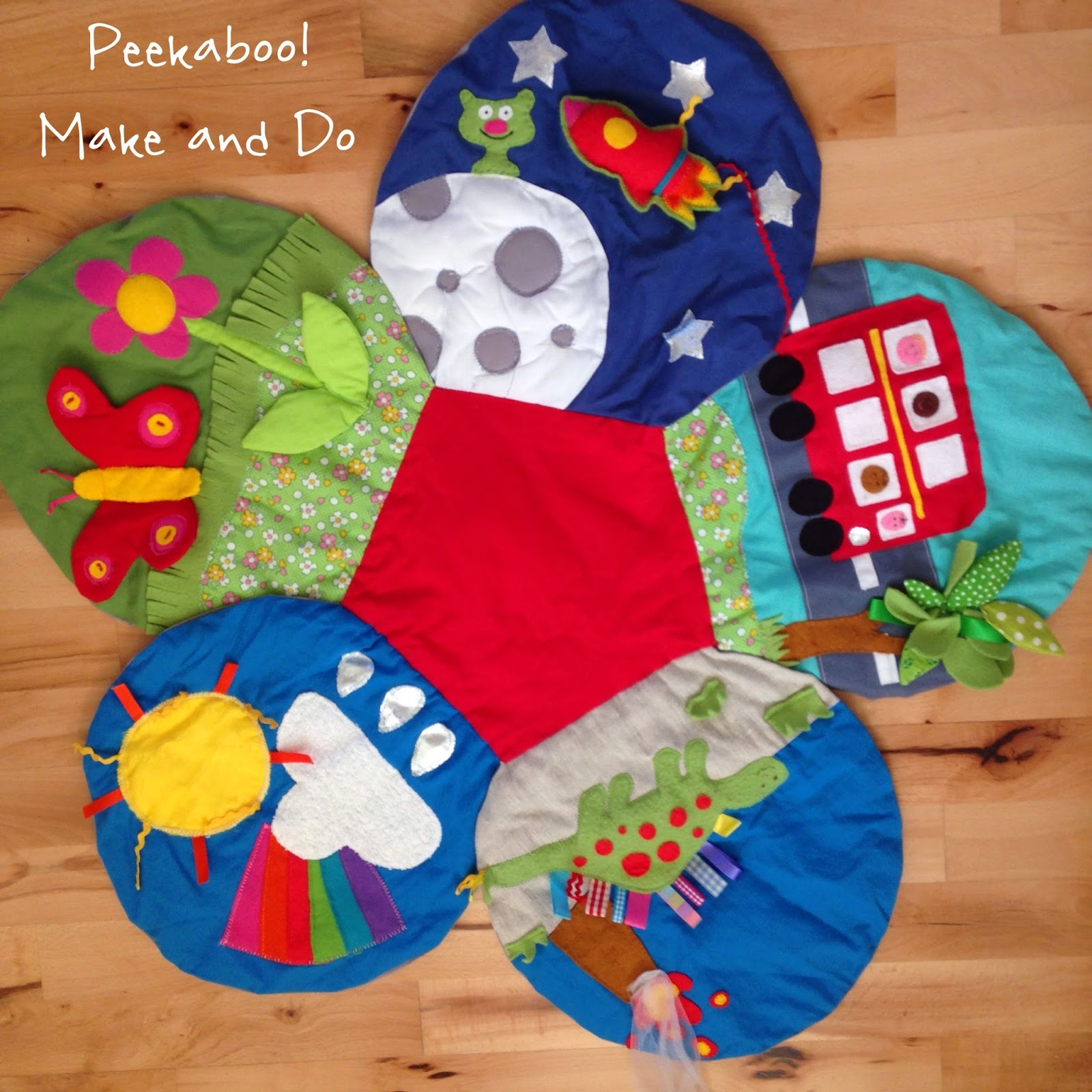 peekaboo make and do baby play mat. Black Bedroom Furniture Sets. Home Design Ideas