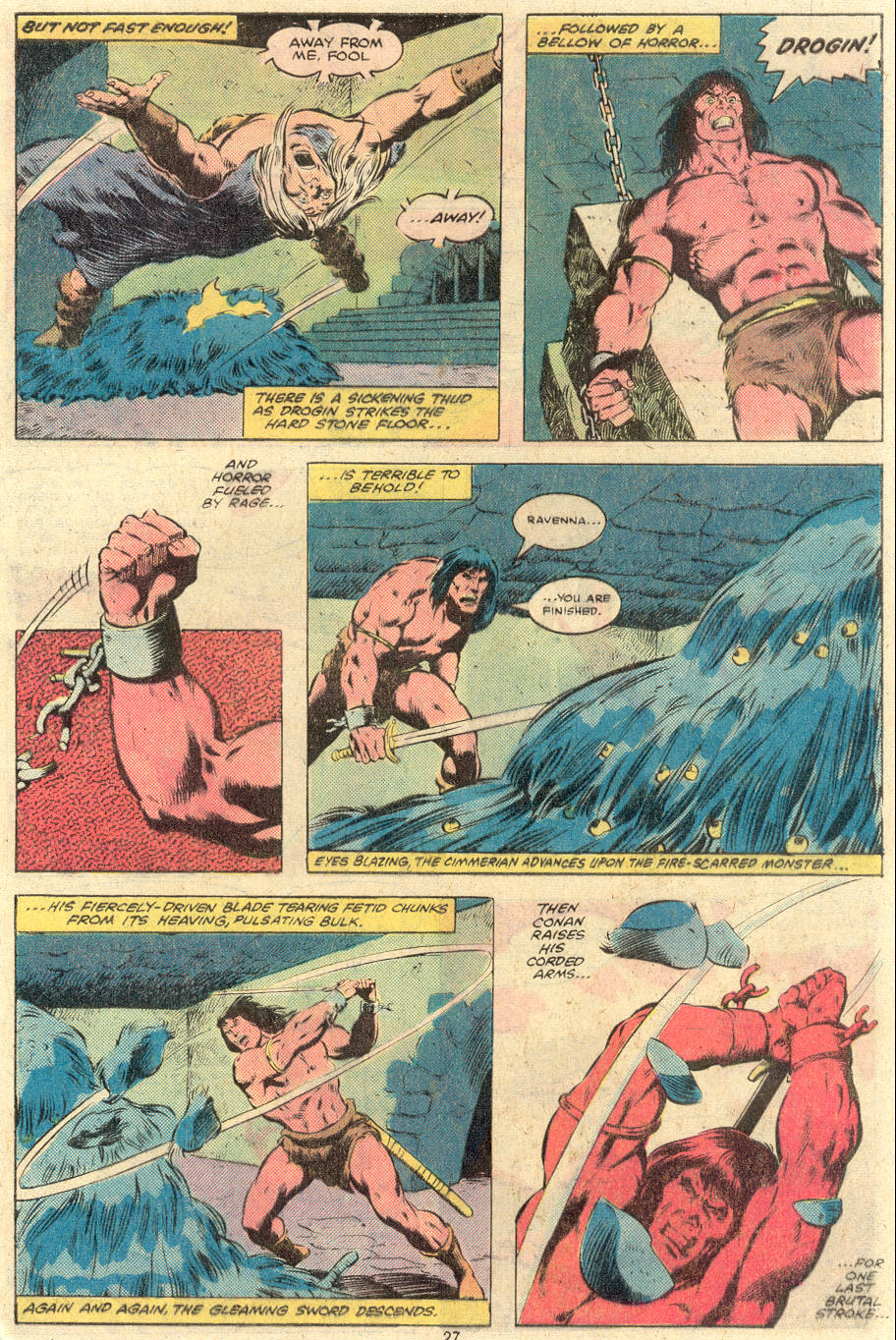 Conan the Barbarian (1970) Issue #119 #131 - English 21