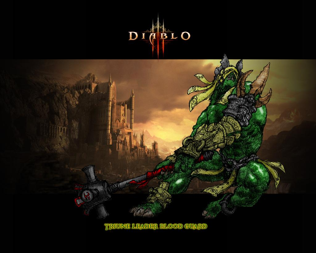 Diablo HD & Widescreen Wallpaper 0.0630972510654515