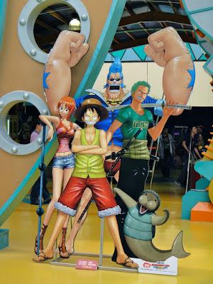 One Piece Characters Formosa Aboriginal Cultural Village Taiwan