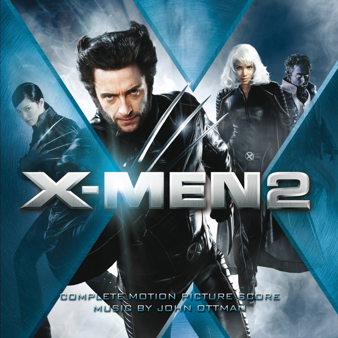 x men 2 complete john ottman. Black Bedroom Furniture Sets. Home Design Ideas