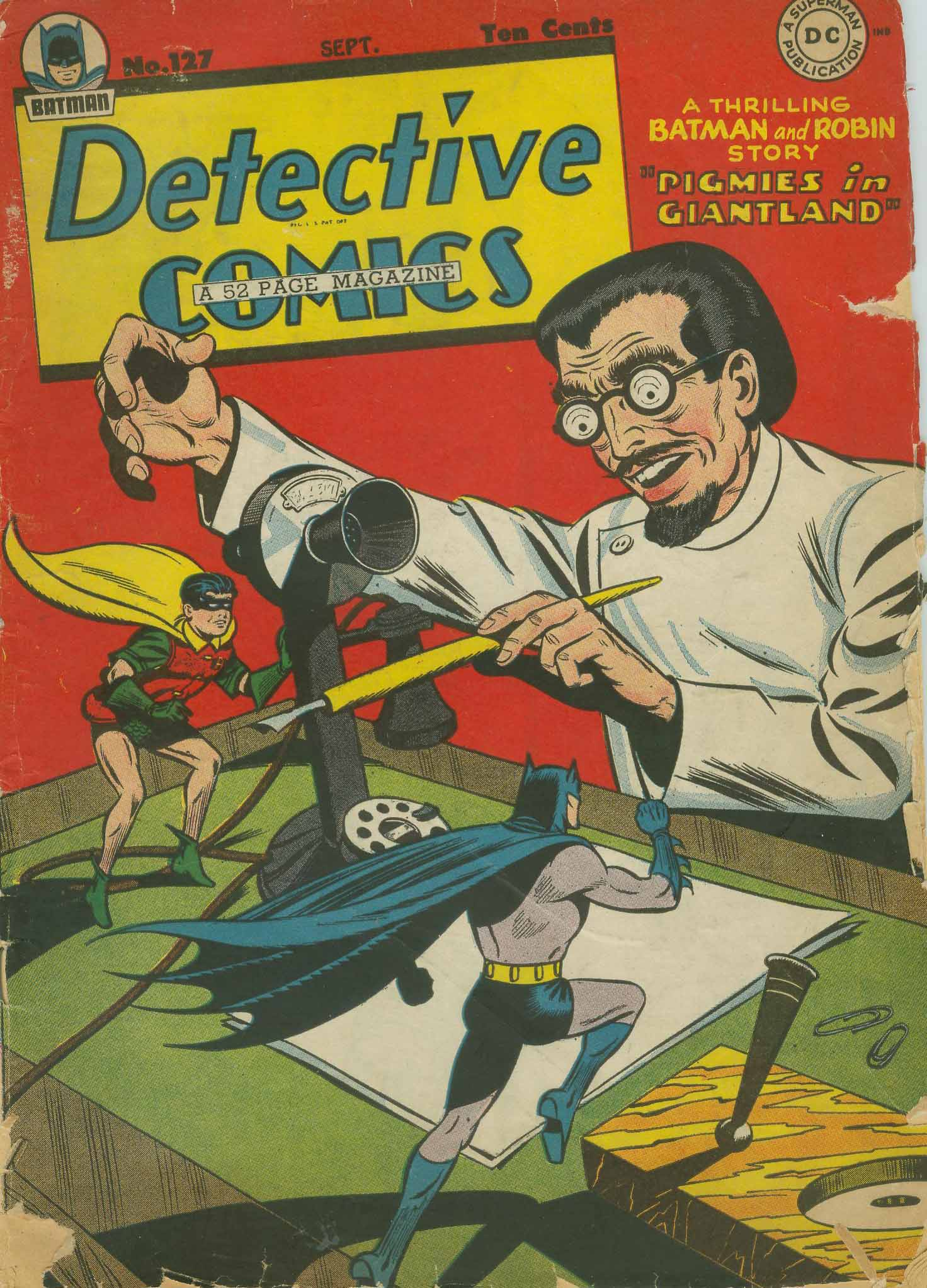 Detective Comics (1937) 127 Page 1