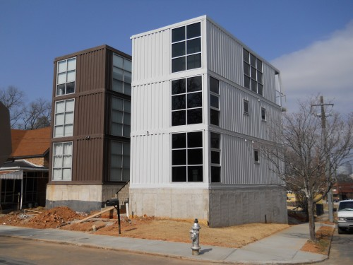 Shipping container homes runkle consulting old fourth for 3 level homes