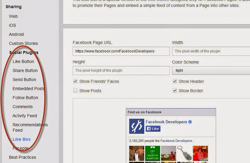 how to put like button on facebook page