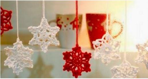 esta vez se trata de aprender a hacer adornos navideos de crochet que podris colgar en el rbol en la casa o para acompaar vuestros regalos con algo